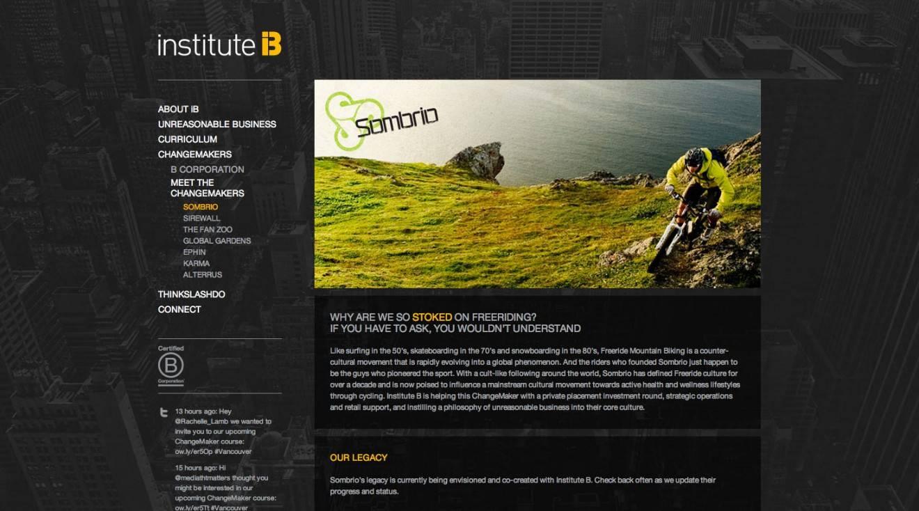 ChangeMaker Page