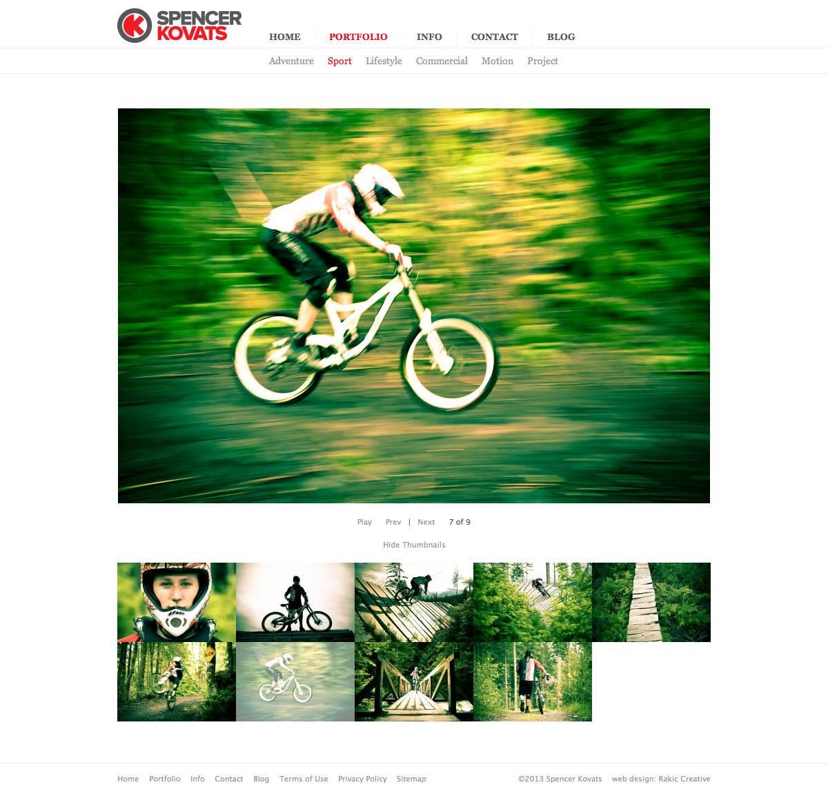 Portfolio Detail Page