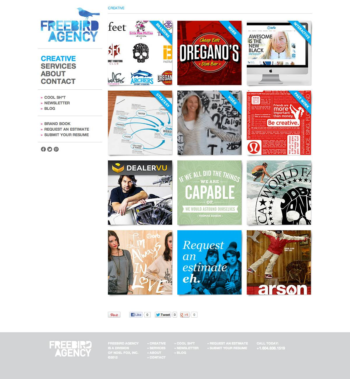 Creative Page