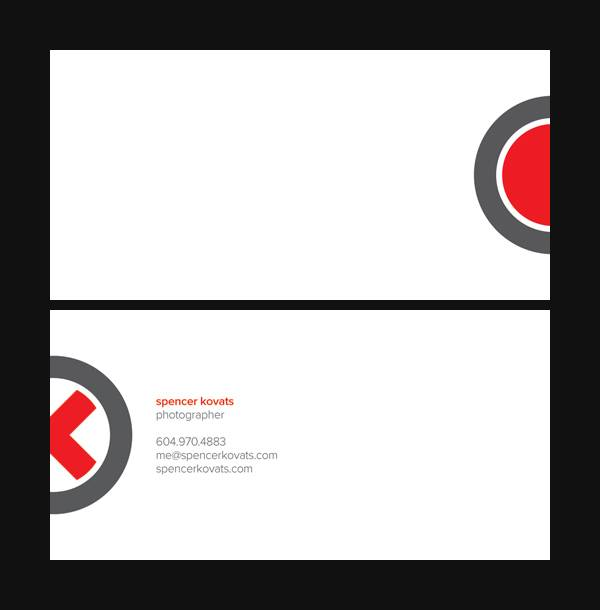 Spencer Kovats Business Card Variation