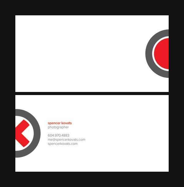 Spencer Kovats Business Card Variation